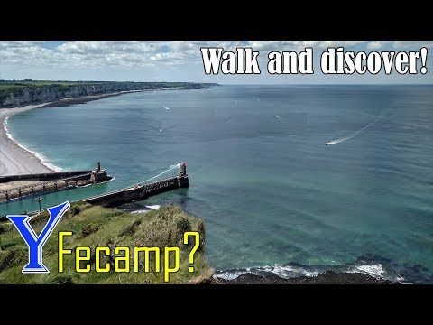Why travel to Fecamp? Walking in Fecamp (Normandy, France)