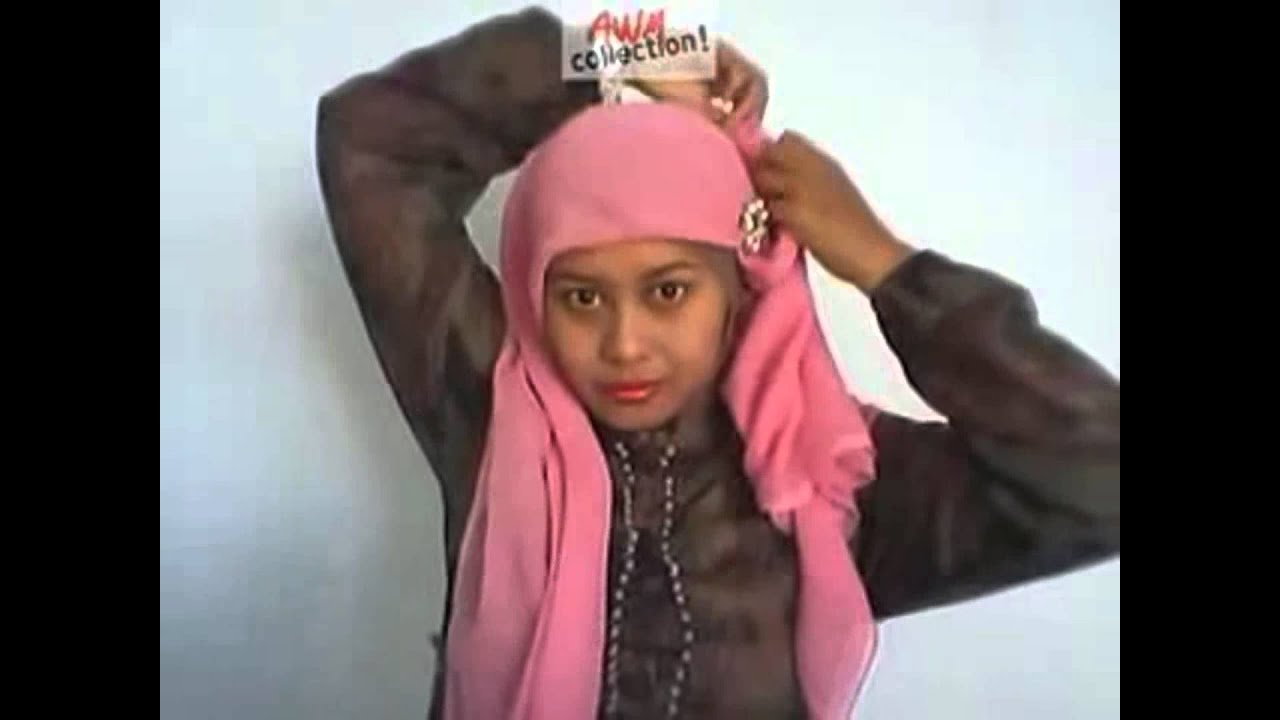 Cara Memakai Hijab Segi Empat Modern Full View - YouTube