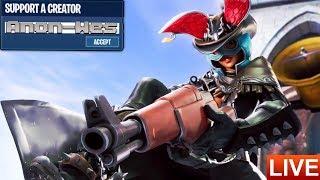 Major Lazer Fortnite Skin!!! Thirstin Thursday! Fortnite Mobile Live!! (iPad) | Zone Wars (later)