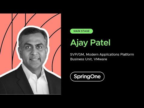 Ajay Patel at SpringOne 2020
