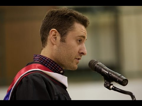 Holy Family Catholic High School Commencement Faculty Address Nathan Schlepp