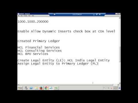 Oracle R12 Financials Training   Legal Entity & Resonsibility