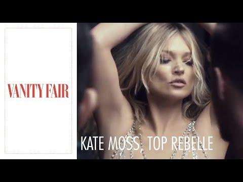 Kate Moss, top rebelle et business model      Vanity Fair Cover