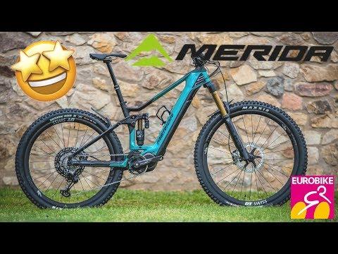 New MERIDA Bikes 2020 (eONE, ONE) - Eurobike 2019 [4K]