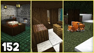 minecraft kitchen medieval survival foxes