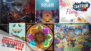 Board Games Kickstarter March 2021 2nd half