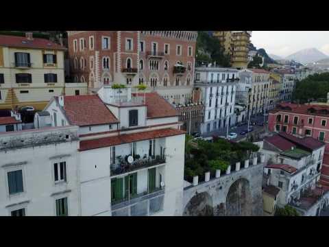 Flying around Salerno Italy