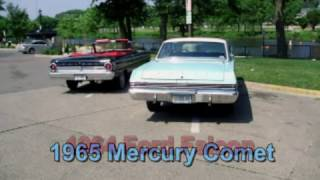 64 Falcon convertible and 65 Comet hardtop -  Drive bys