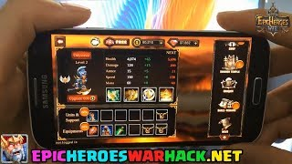 Epic Heroes War Hack Gems 2017 Android/iOS Epic Heroes War Cheats