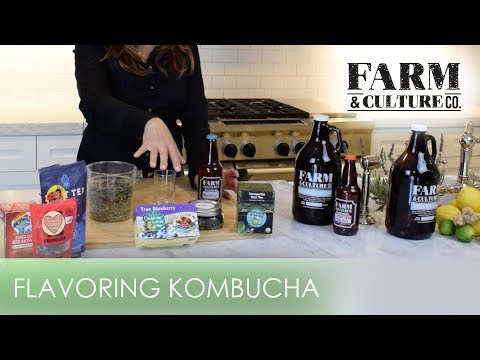 Farm and Culture: How to Flavor Kombucha (Full Video)