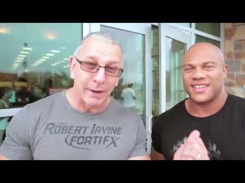 5-Time Mr. Olympia Phil Heath and Robert Irvine Hit the Gym!