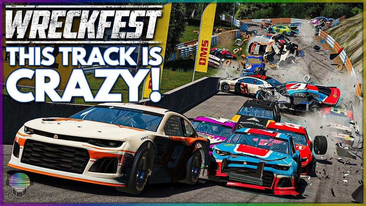 Download THIS TRACK IS CRAZY!   Wreckfest   NASCAR