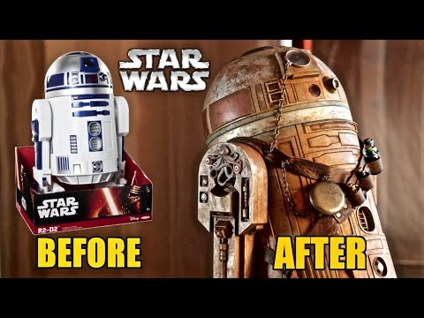 Jakks Pacific R2-D2 Steampunk Inspired makeover- Chris' Custom Collectables!
