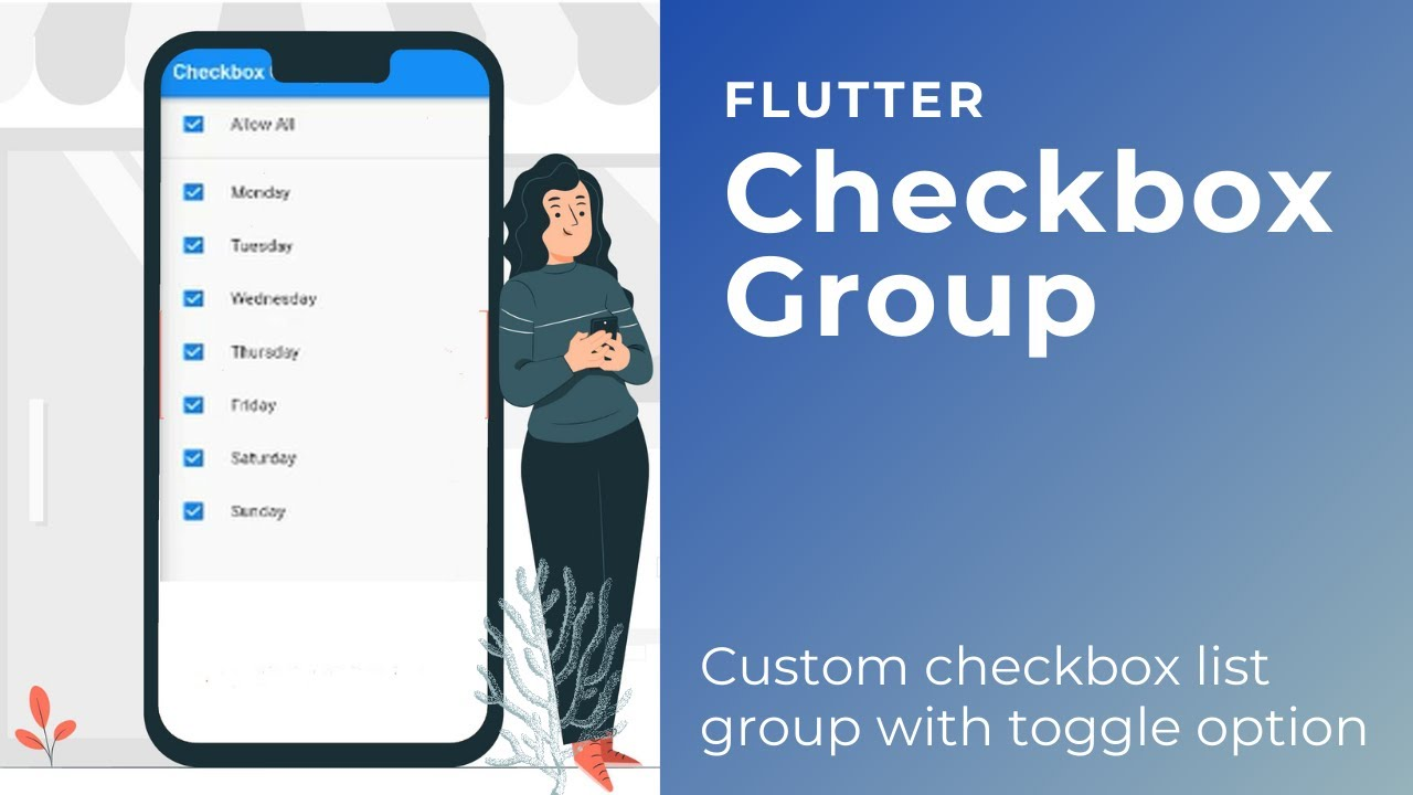 Checkbox Group Toggle in Flutter