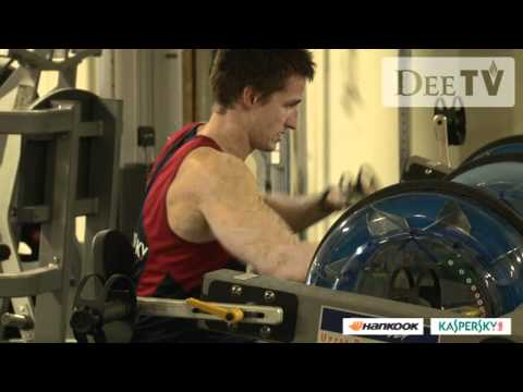 Jack Grimes in the gym