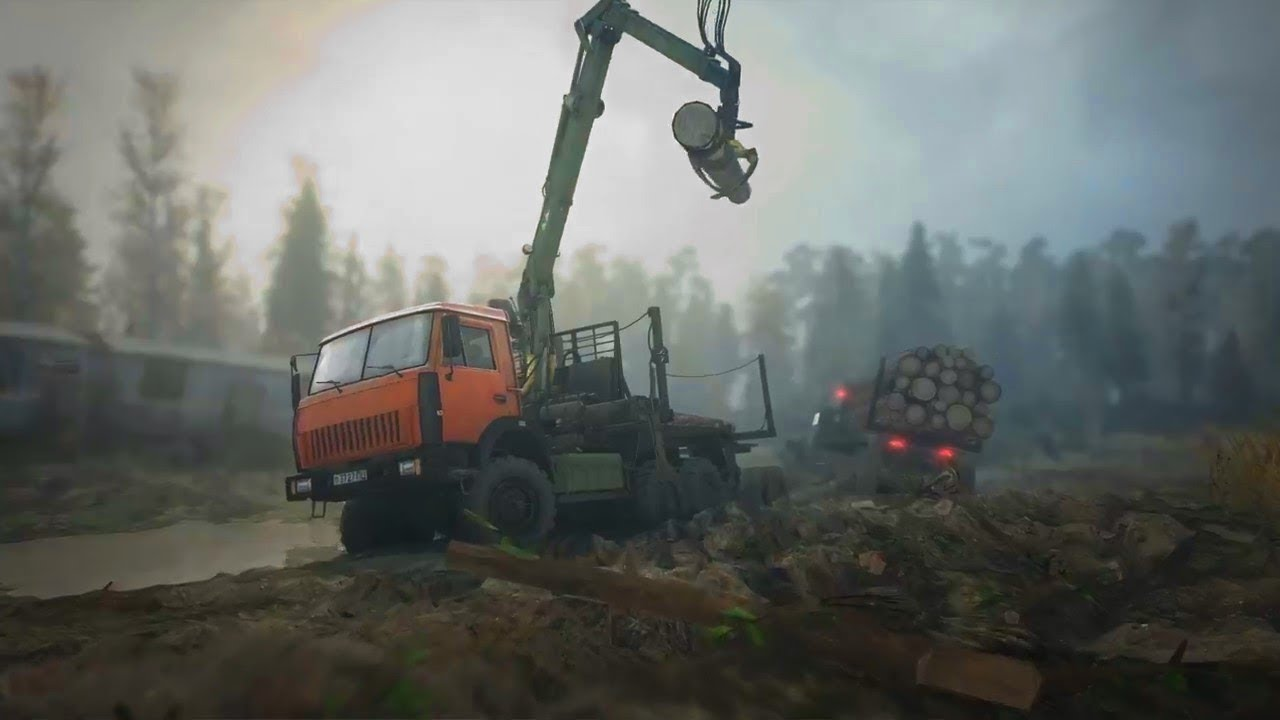 spintires mudrunner official e3 reveal gameplay trailer. Black Bedroom Furniture Sets. Home Design Ideas