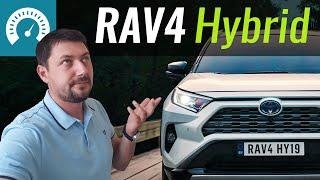 RAV4 Hybrid: стоит ли брать? Тест Тойота РАВ4 Гибрид 2019