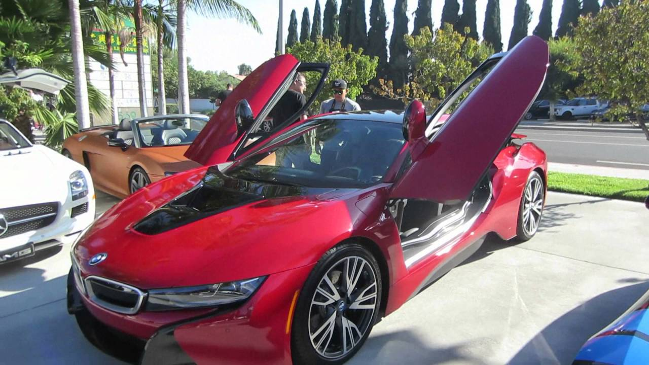 2017 Bmw I8 Protonic Red Edition Youtube