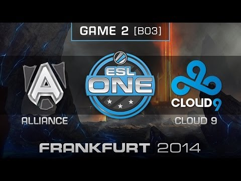 Cloud 9 vs. Alliance - Quarterfinals Map 2 - ESL One Frankfurt 2014 - Dota 2