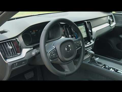 The new Volvo V60 Interior Design