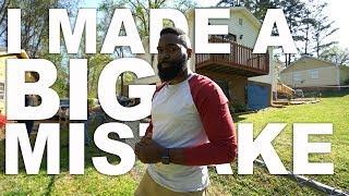 I MADE A BIG MISTAKE | Wholesaling Real Estate | VLOG 16