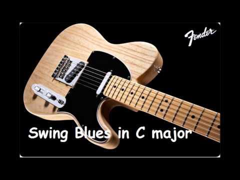 Blues Backing Track Swing Blues in C major