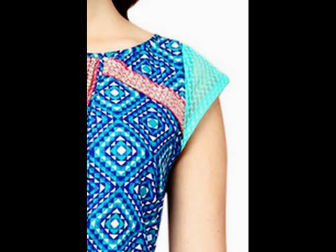 Cap Sleeves Making Cutting and Stitching ( DIY) - YouTube