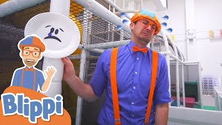 Learning Emotions With Blippi at an Indoor Play Place For Kids | Educational Videos For Kids