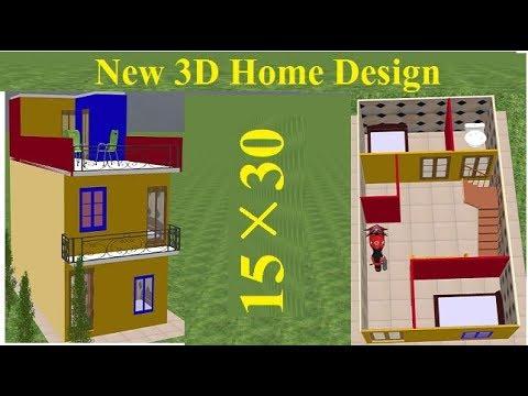 15 by 30 house plans - smallhouseplane