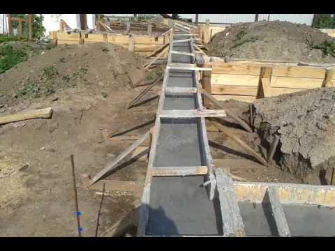 Заливка бетона вручную бетон призменная прочность