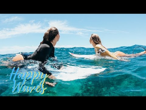 Alana's And Jack's Day In A Life On KAUAI | SURFING With Friends | Happy Waves