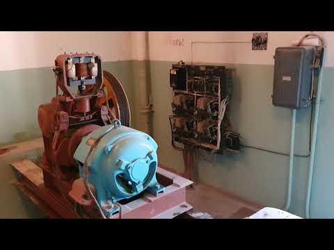 «Ремонт» интересного старого грузового лифта