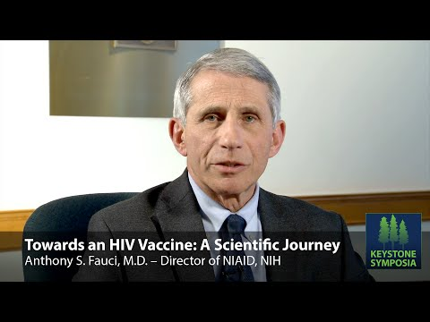 Towards an HIV Vaccine: A Scientific Journey – Dr. Anthony S. Fauci, M.D.