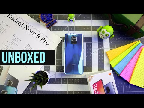 Redmi Note 9 Pro Unboxing And Hands On Impressions