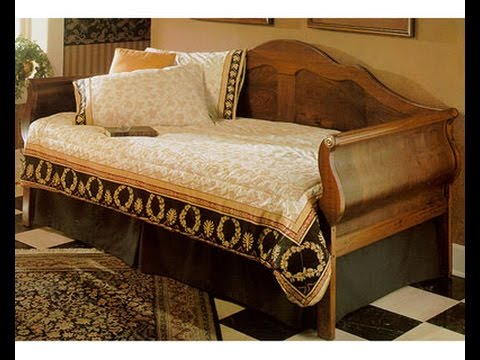 wooden daybed frame