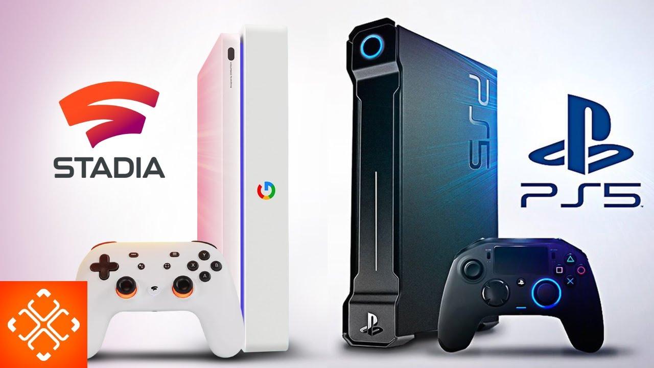 Google Stadia Console Gaming Comparison