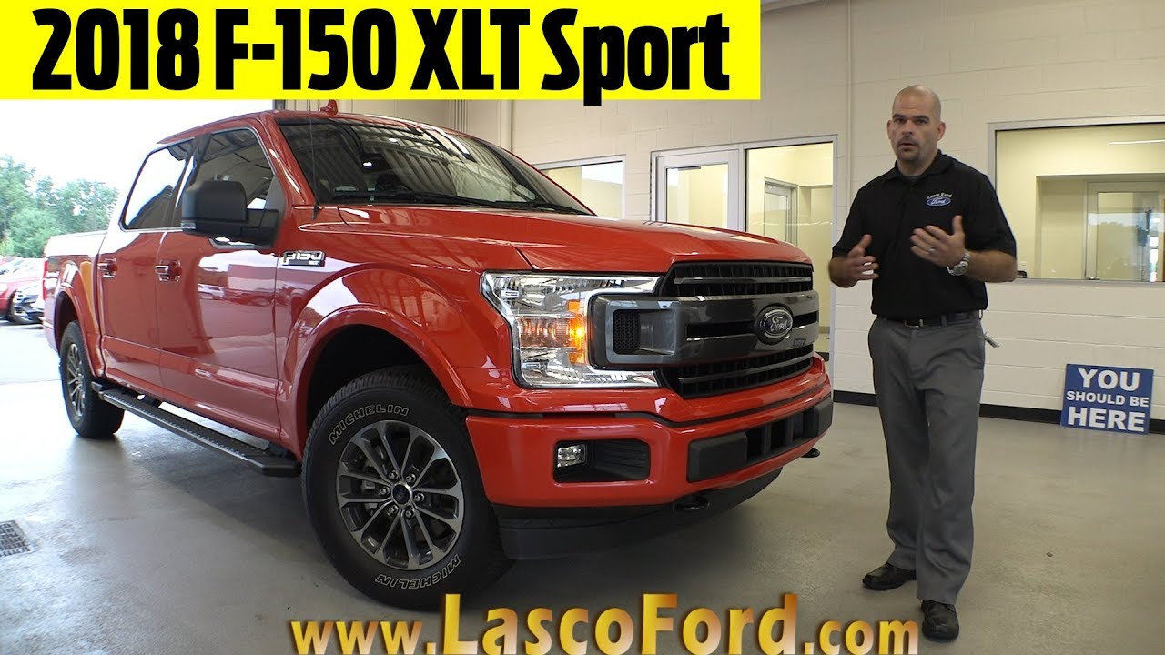 2018 ford f150 xlt sport exterior interior walkaround. Black Bedroom Furniture Sets. Home Design Ideas