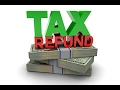 Income Tax Refund Tips