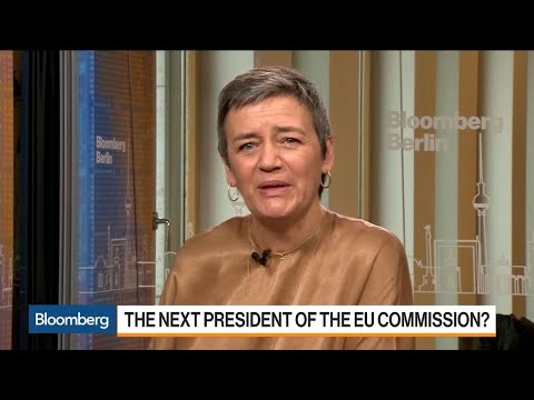 Vestager: It's About Time to Have a Woman as Head of EU Commission