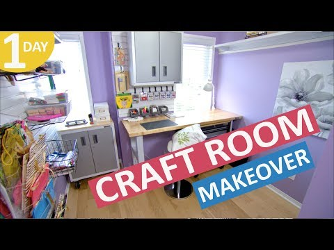 Craft Room Makeover in a Day | Scott's House Call S2 (EP 5)