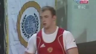 Alexandr Ivanov, World 94 Kg Champion 2010.