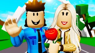 Officer Roofus Falls In Love! *FULL MOVIE* A Roblox Movie (Brookhaven RP)