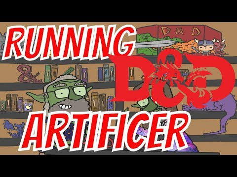 Unearthed Arcana Artificer Revised- Running D&D: Quests & Adventures #111