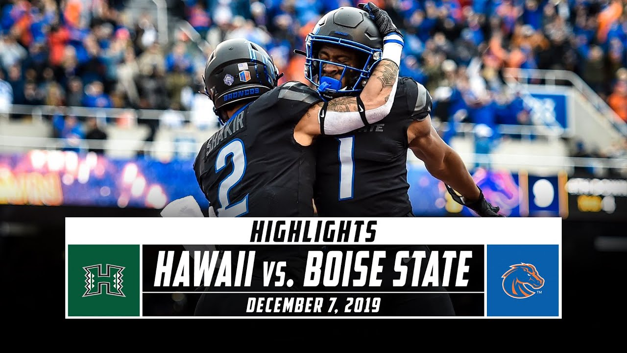 hawaii vs boise state