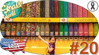 เด็กจิ๋วตามล่าหา M&M Candy Wall ที่ Las Vegas (USA59#20)