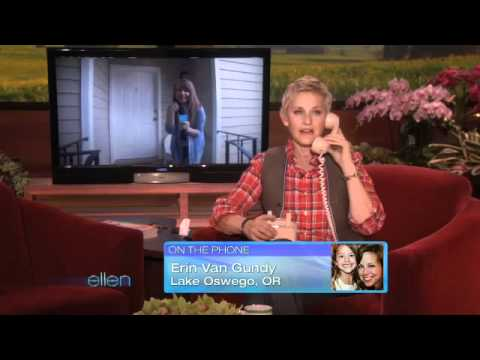 Ellen Surprises a Home Viewer with a GMC Terrain!