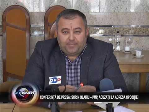 CONFERINȚĂ DE PRESĂ: SORIN OLARIU – PMP, ACUZAȚII LA ADRESA OPOZIȚIEI