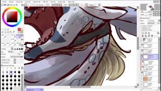 Chained - Flightrising speedpaint