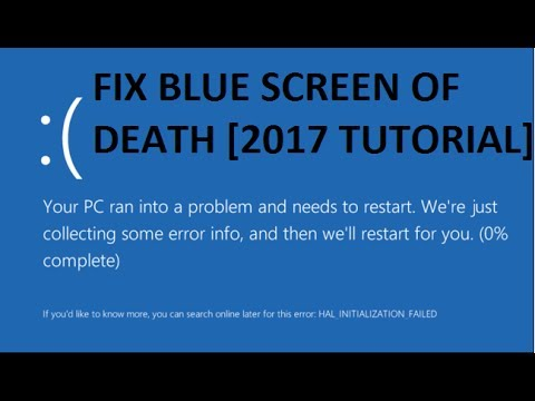 How To Fix Blue Screen Error In Windows 10 [Tutorial]
