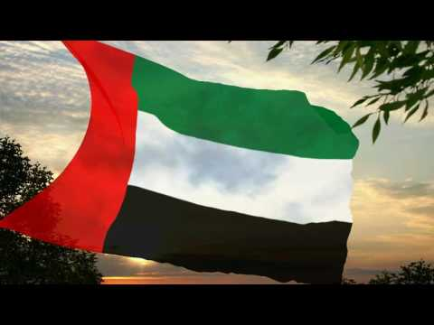 Flag and anthem of United Arab Emirates